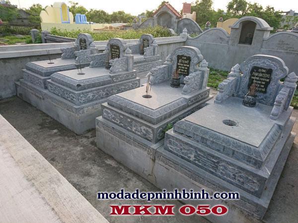Mẫu lăng mộ không mái đẹp tại Ninh Bình