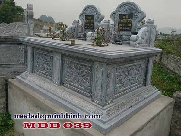 Đường nét chế tác sắc sảo chính là tiêu chí để chọn được mẫu lăng mộ đẹp