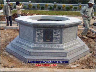 Lăng mộ đá xanh có độ bền cao