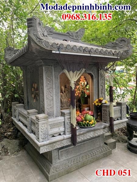 Cây hương bàn lễ thờ đá gia đình trung cư CHD 051