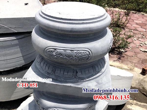 Chân tảng đá kê cột gỗ CTD 051
