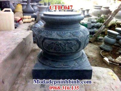 Chân tảng đá kê cột trụ nhà gỗ CHD 047