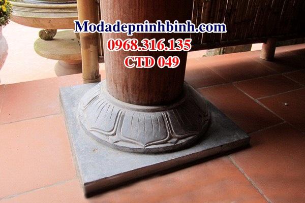 Chân tảng đá kê cột trụ nhà gỗ CHD 049