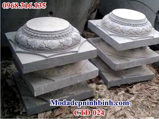 Chân tảng đá kê cột nhà 024