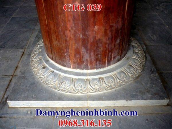 Chân tảng đá kê cột nhà thờ 039