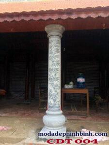 Cột đồng trụ đá 004