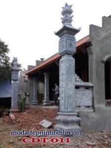 Cột đồng trụ đá 011