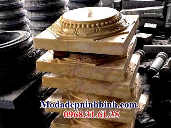 Đá vàng kê cột nhà thờ 043