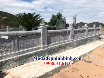 Hàng rào đá lăng mộ Ninh Bình 033