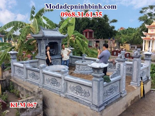 Khuôn viên nghĩa trang gia đình 067