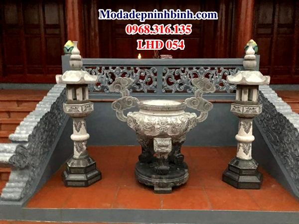 Lư đỉnh hương đá lu dinh huong da LHD 054