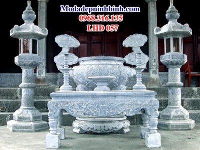 Lư đỉnh hương đá lu dinh huong da LHD 057