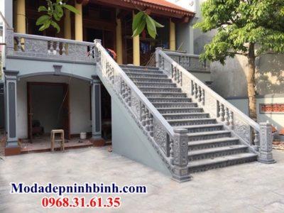 Lan can con tiện cầu thang Bắc Ninh 030