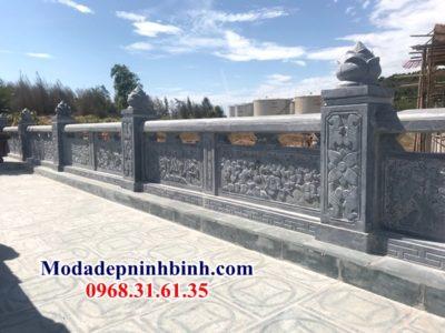 Lan can hàng rào khu lăng đá Sài Gòn 035