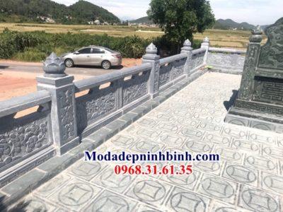 Lan can lăng mộ đá Thái Nguyên 034