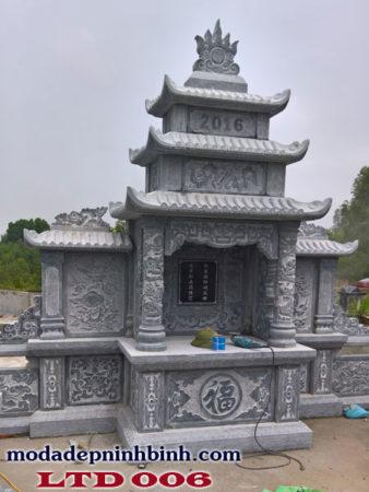 Lăng thờ đá tại tỉnh Gia Lai