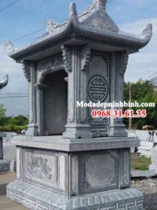 Lăng thờ long đình đá chung 070