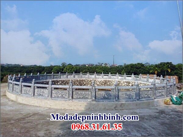 Lắp lan can giếng làng Hưng Yên 047