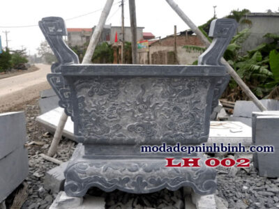 Lư hương đá 002