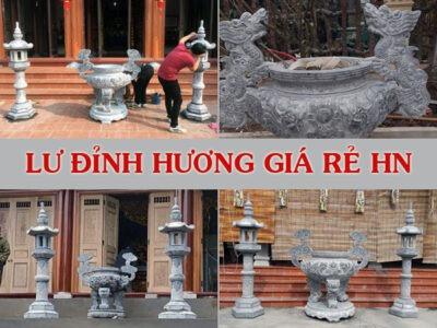 Lư hương đá giá rẻ Hà Nội