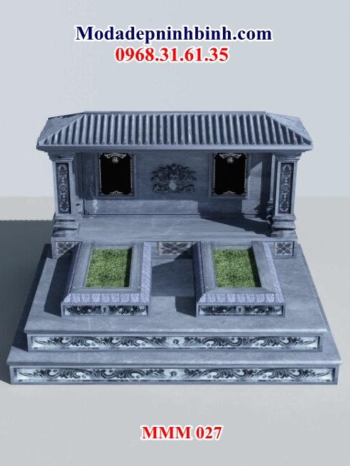 Mẫu lăng thờ đá tại Quảng Ngãi Mẫu lăng-mộ đá đẹp ninh bình nguyên khối mmm 027