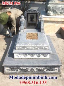Mẫu mộ đá đẹp MKM 096