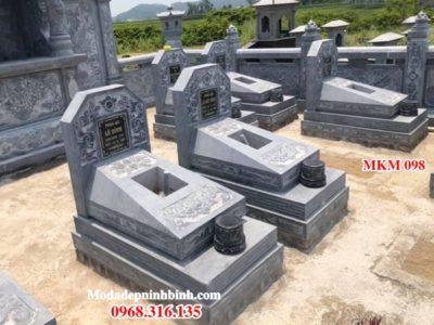Mẫu mộ đá đẹp MKM 098