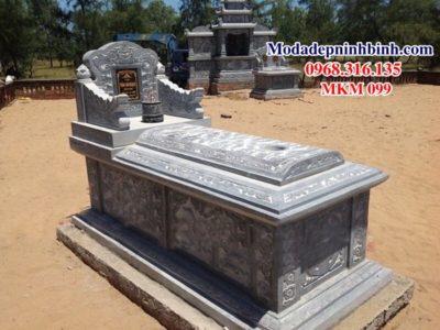 Mẫu mộ đá đẹp MKM 099