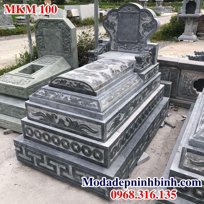 Mẫu mộ đá đẹp MKM 100