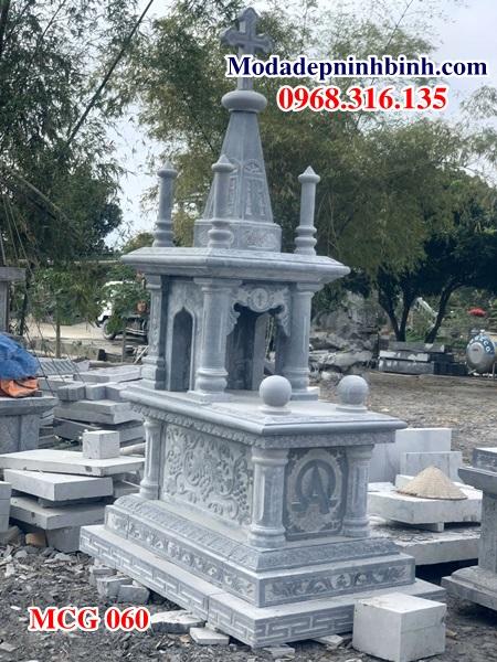 Mộ đá công giáo mo da cong giao MCG 060