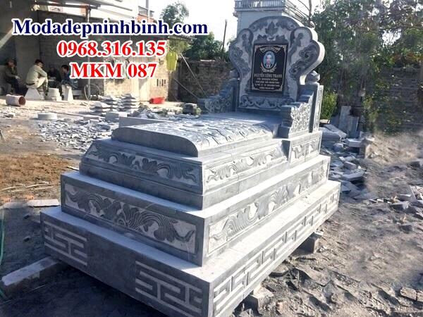 Mộ đá hậu bành 5 cấp MKM 087