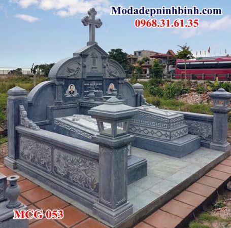 Mộ đá người theo đạo công giáo 053