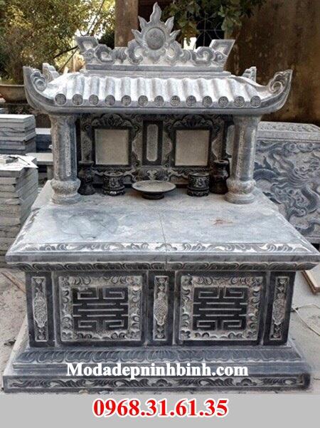 Mẫu mộ đôi đá đẹp 055
