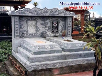 Mẫu mộ đôi đá đẹp nhất 056