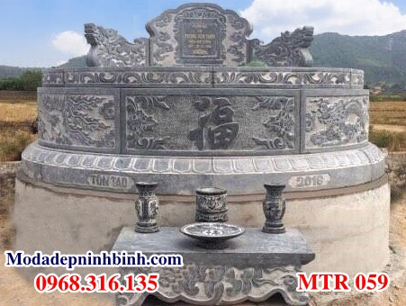 Mộ tổ tiên xây bằng mộ tròn đá