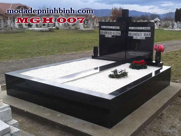 Mộ đá granite hoa cương 007