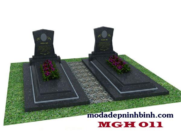 Mộ đá granite hoa cương 011