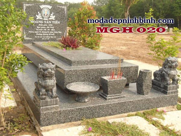 Mộ đá granite hoa cương 020