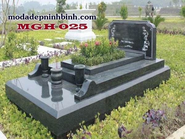 Mộ đá granite hoa cương 025