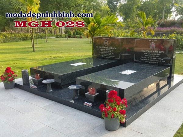 Mộ đá granite hoa cương 028