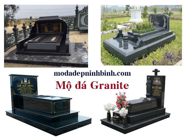 Mộ đá granite hoa cương