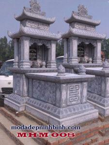 Mộ đá hai đao hai mái 008