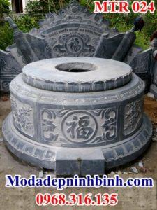 Mộ đá hình tròn 024