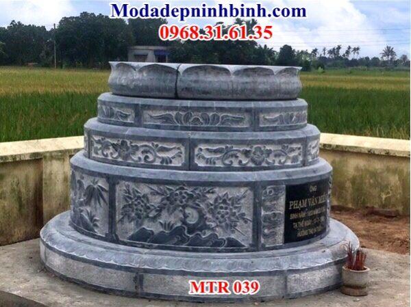 Mộ đá hình tròn tại Quy Nhơn