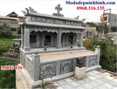 Mộ đá thiên chúa giáo đẹp nhất 036