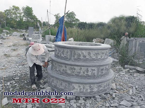 Mộ đá tròn 022