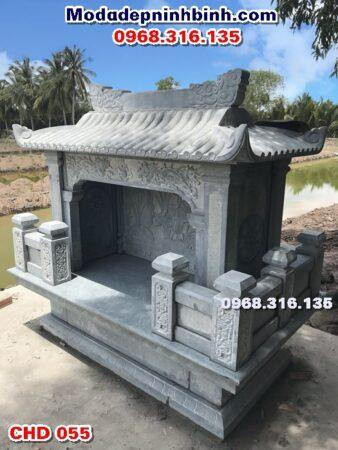 Cây hương miếu thờ đá xanh rêu 055