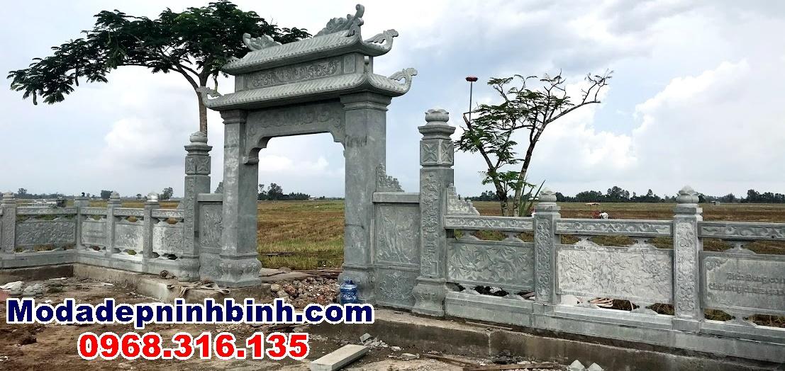 cổng vào khu mộ đá An Giang