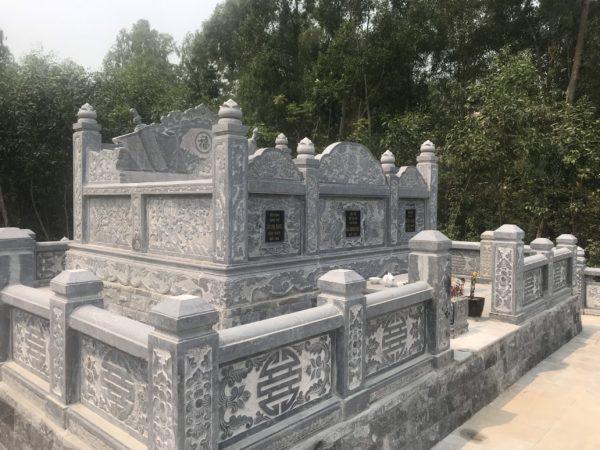 Công trình mộ tổ hoàn thiện tại Nghệ An