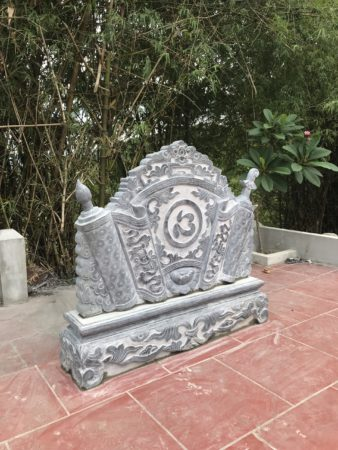 Cuốn thư đá, tắc môn đá lắp tại An khê Gia Lai